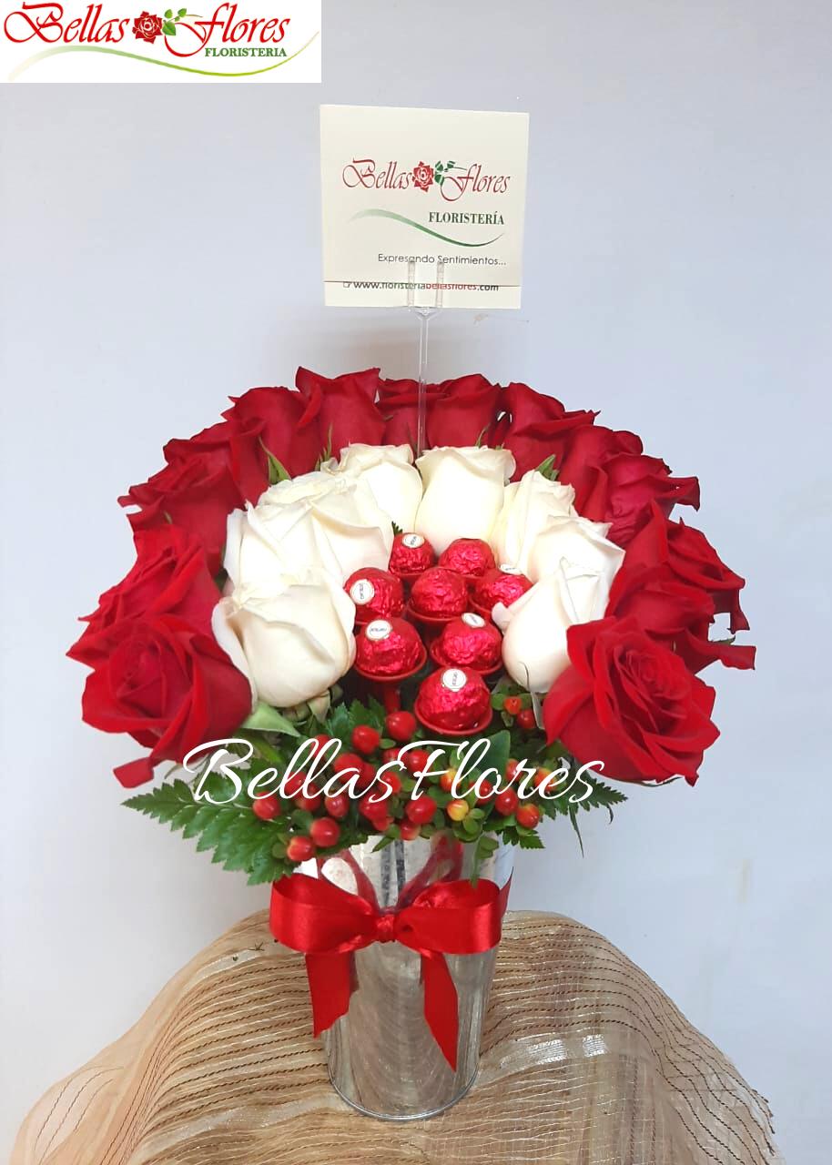chocolates rosas